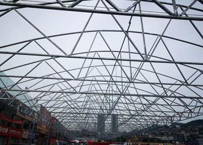 工业厂房钢结构