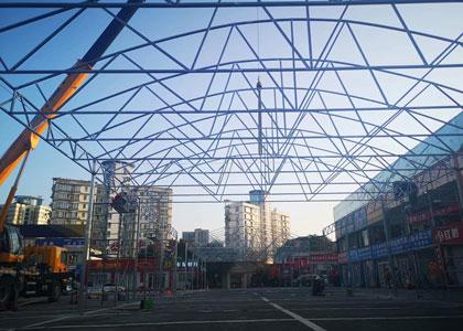 商业板壳钢结构